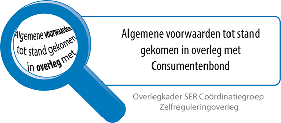 Tot stand gekomen in overleg met de Consumentenbond
